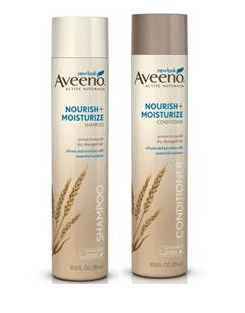 Aveeno-Nourish-+-Moisturize-shampoo-and-conditioner-with-hydrating-oat-protein-for-softer-healthier-hair-with-less-breakage